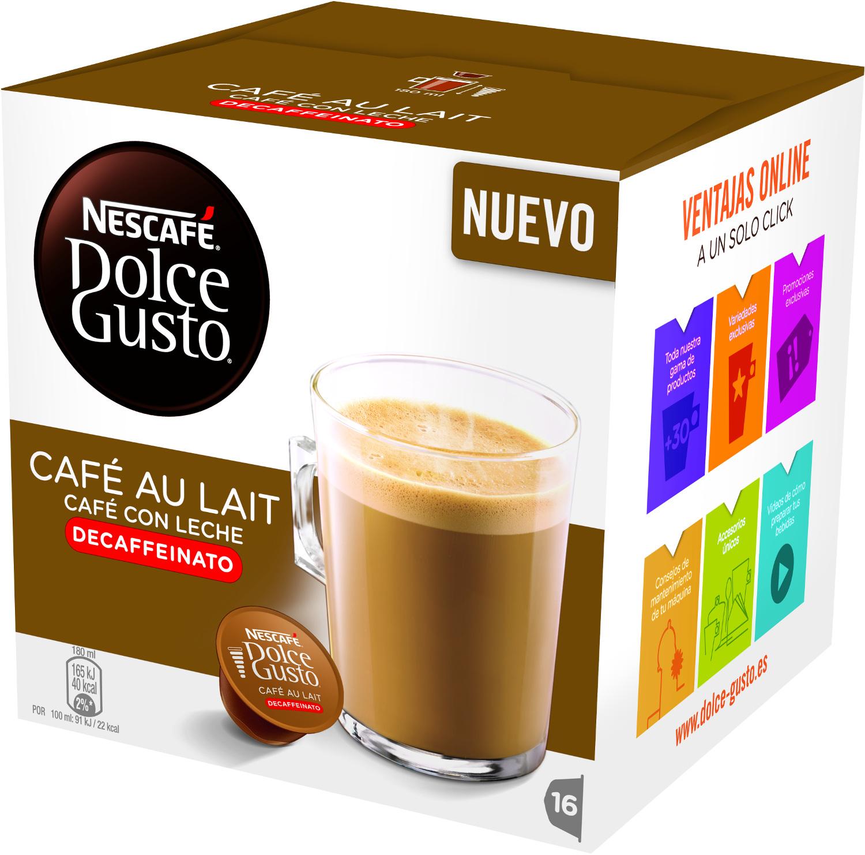 Pack De Cápsulas DOLCE GUSTO CAFÉ CON LECHE DESCAFEINADO