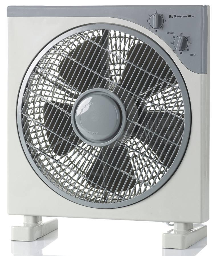 Ventilador Box Fan 3 Velocidades UNIVERSAL UVB11-50