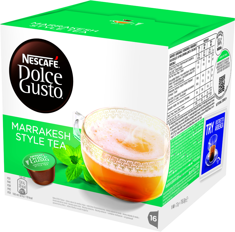Pack De Cápsulas DOLCE GUSTO MARRAKESH STYLE TEA