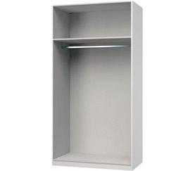 Estructura 110 cm para vestidor ABSOLUT Arcilla
