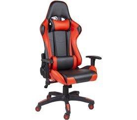 Silla gaming de escritorio GAMER Negro y rojo