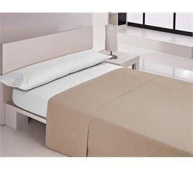 Sábana encimera para cama de 90 cm MIX Antracita
