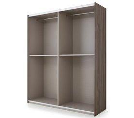 Estructura de armario 200 cm ZEUS Blanco