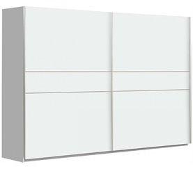 Armario 2 puertas correderas 270 cm NEVADA Blanco