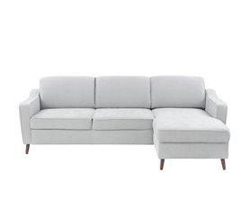 Chaise longue reversible con cama ZOLA Antracita
