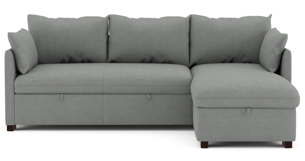 Chaise longue con cama reversible tela COSY
