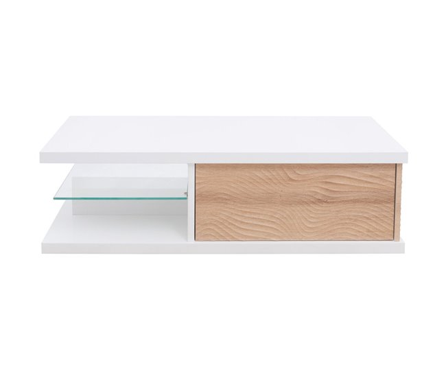 Mueble TV 1 cajón con iluminación Led DUNE