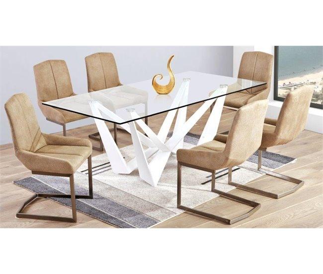 ofertas mesa y sillas comedor conforama