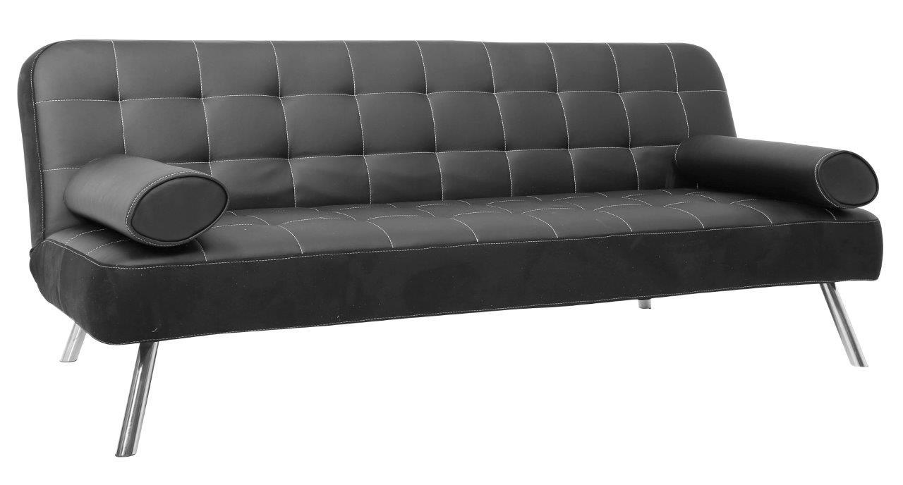 Sofá cama JOY Negro - Conforama