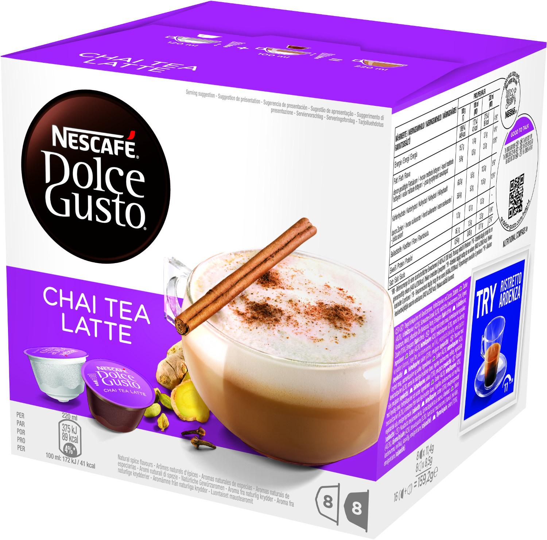 Pack De Cápsulas DOLCE GUSTO CHAI TEA LATTE